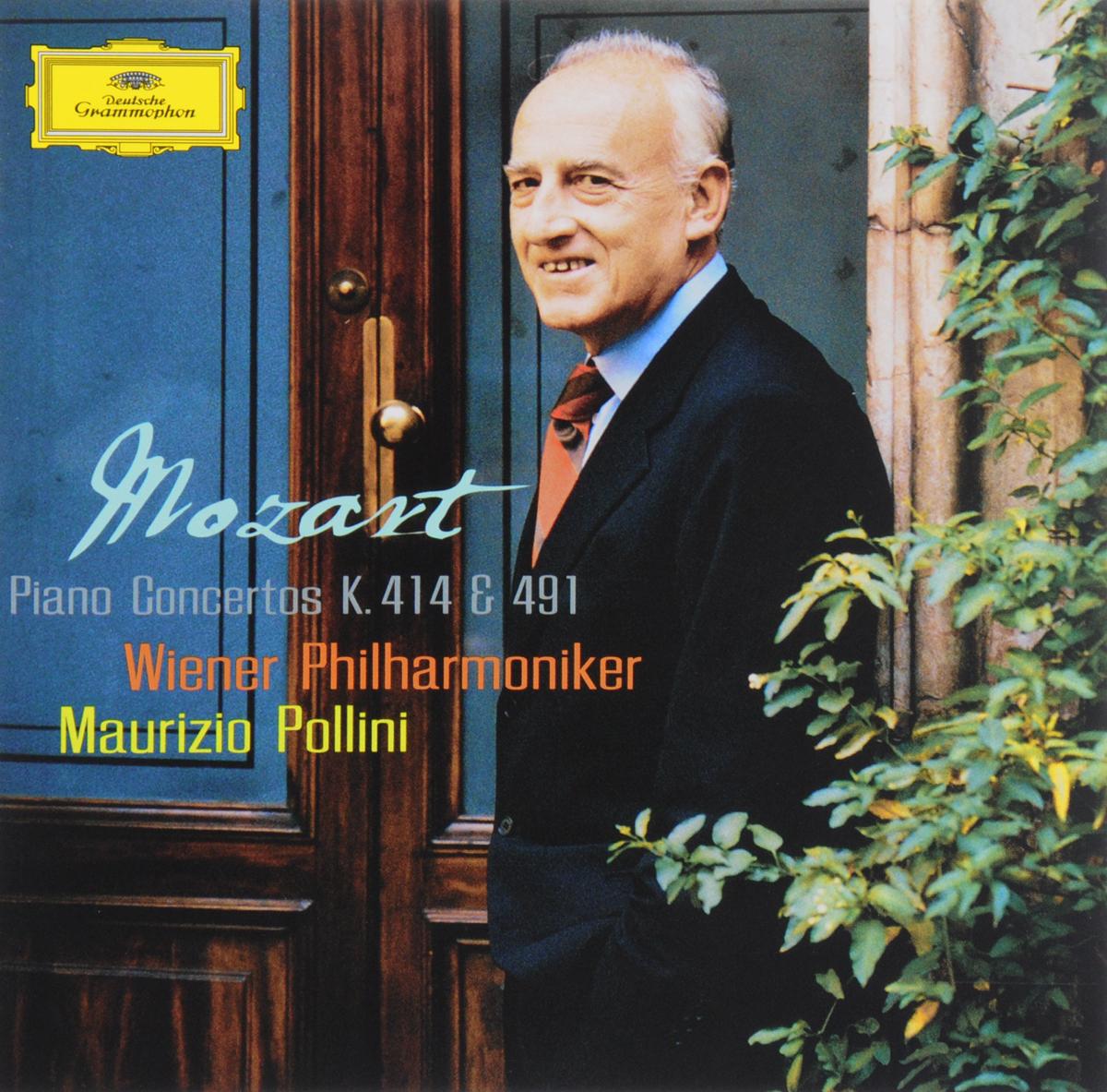 Маурицио Поллини Maurizio Pollini. Mozart. Piano Concertos K. 414 & 491