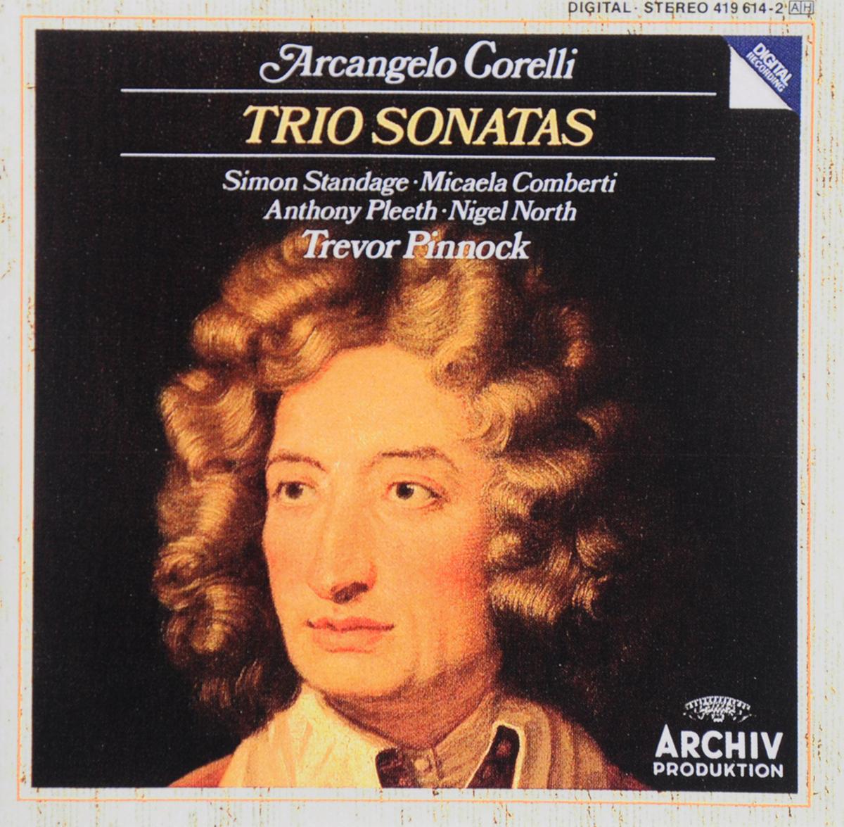 Тревор Пиннок Trevor Pinnock. Arcangelo Corelli. Trio Sonatas the english concert тревор пиннок trevor pinnock handel trio sonatas