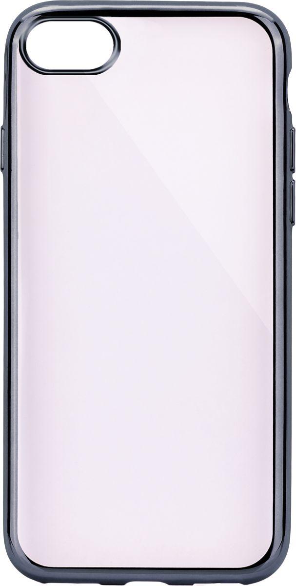 Interstep Frame чехол для Apple iPhone 7/8, Titanium interstep чехол аккумулятор для apple iphone 7 6 red 3000 мач