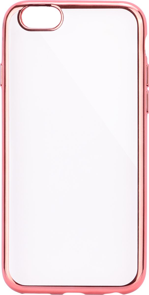 Interstep Frame чехол для Apple iPhone 6 Plus/6s Plus, Pink чехол аккумулятор interstep power для apple iphone 6 6s 7 8 plus 5000мач красный