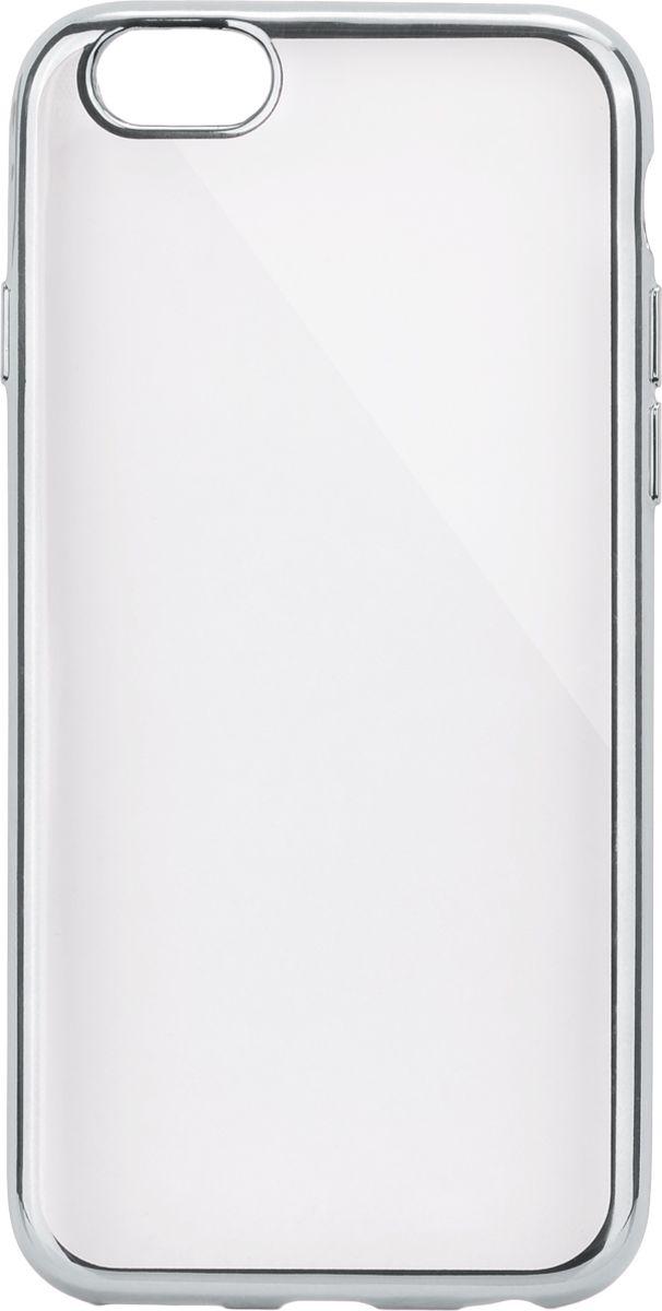 Interstep Frame чехол для Apple iPhone 6/6s, Silver цена