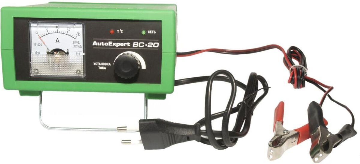 AutoExpert BC-20, Green зарядное устройство для автомобильных АКБ