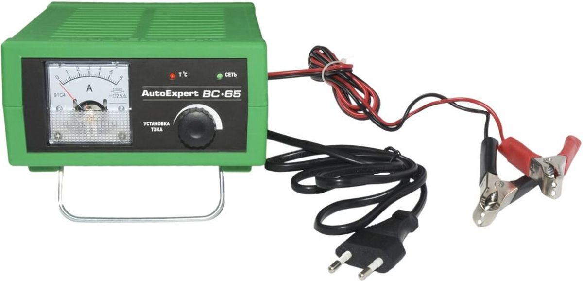 AutoExpert BC-65, Green зарядное устройство для автомобильных АКБ
