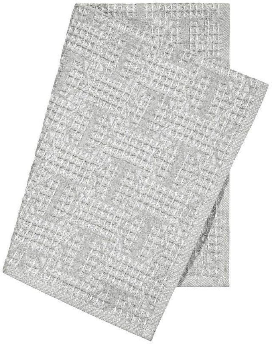 "Полотенце кухонное Togas ""Арно"", цвет: светло-серый, 40 х 60 см"