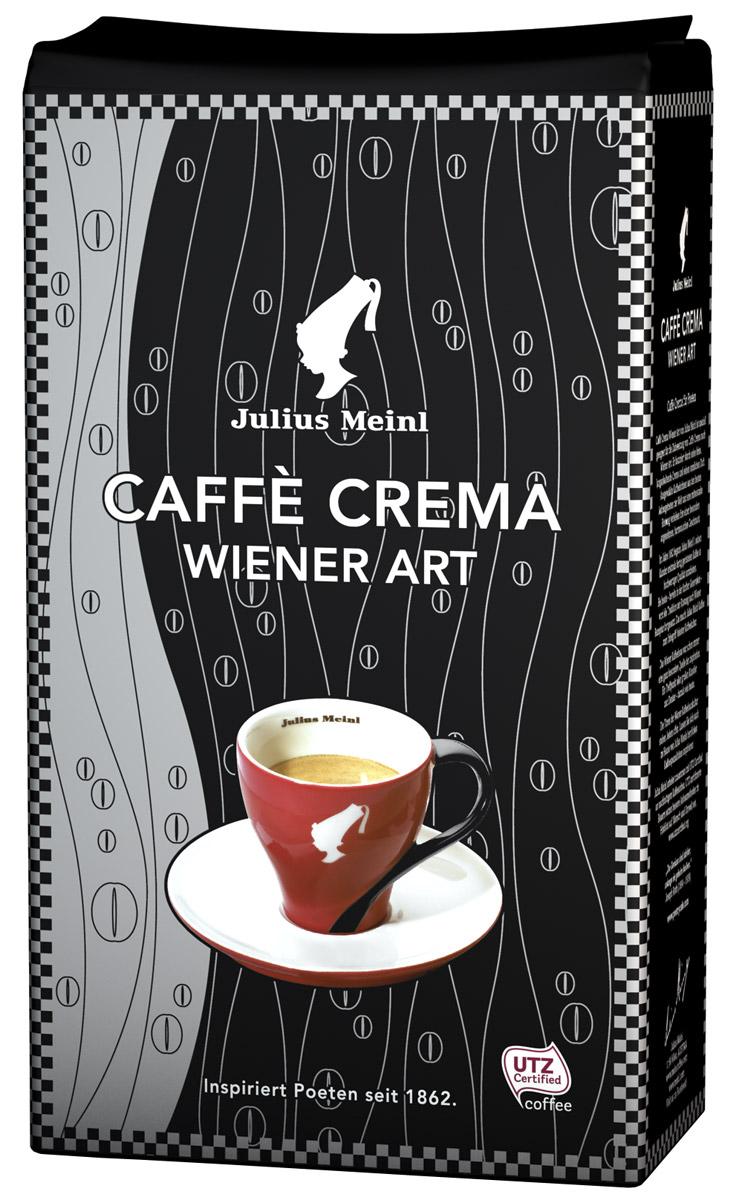 Julius Meinl Кафе Крема кофе в зернах, 1 кг цена и фото