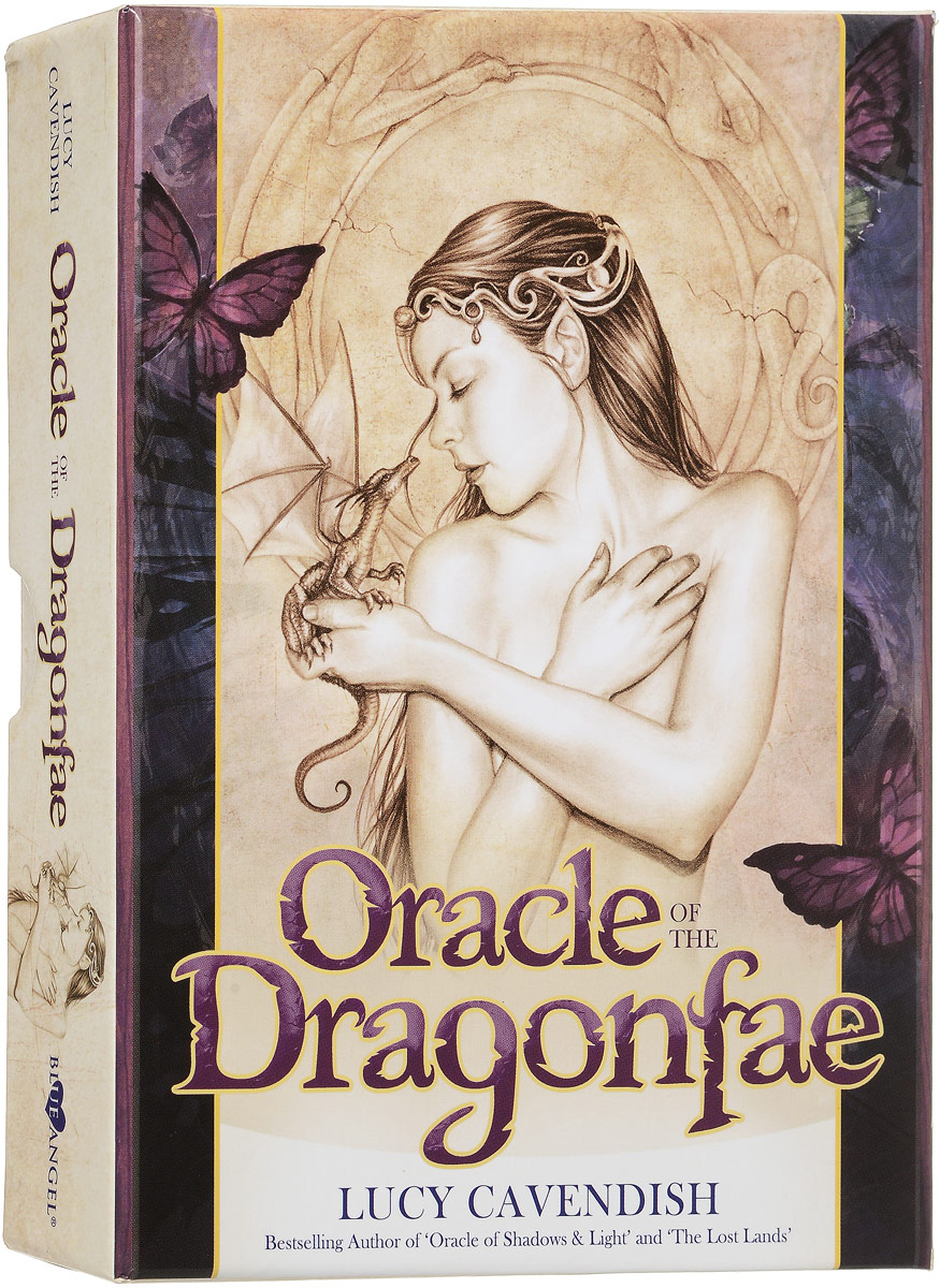 Оракул Blue angel Oracle Of The Dragonfae, 43 карты карты таро agmuller oracle cards the oracle of the goddess