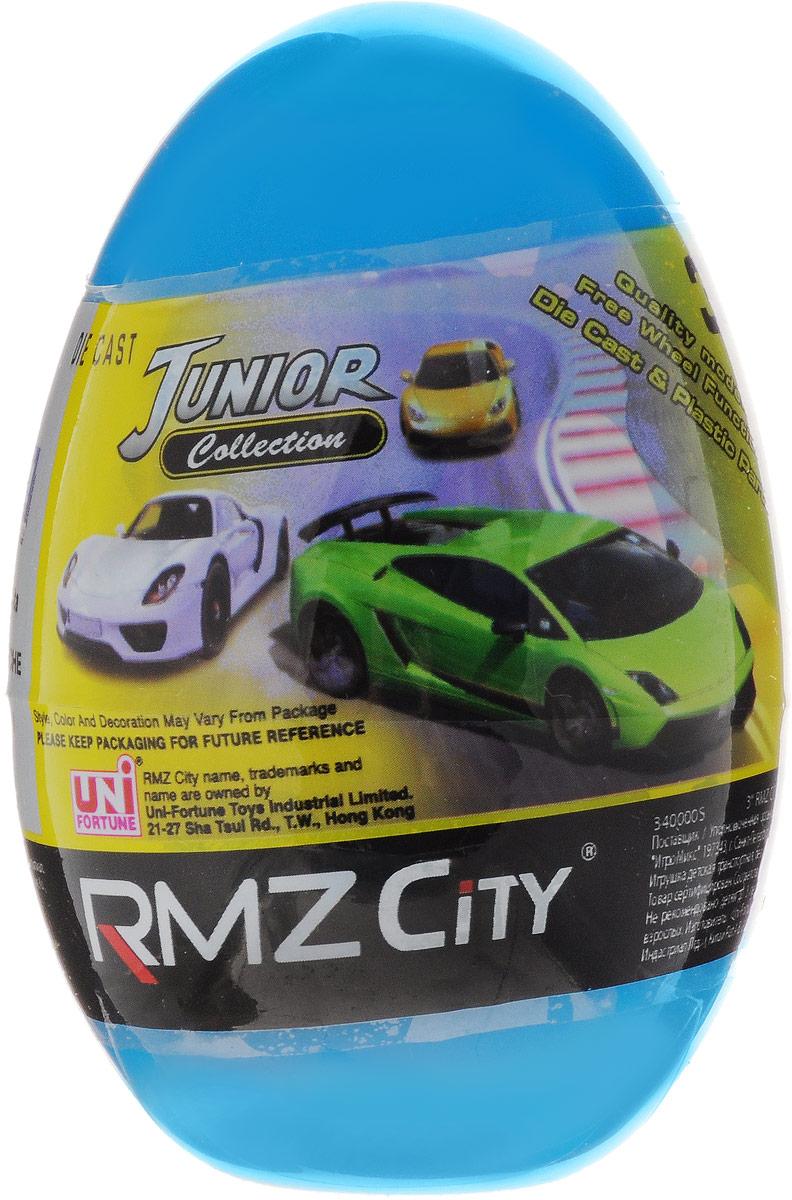 Uni-Fortune Toys Яйцо с моделью автомобиля цвет голубой