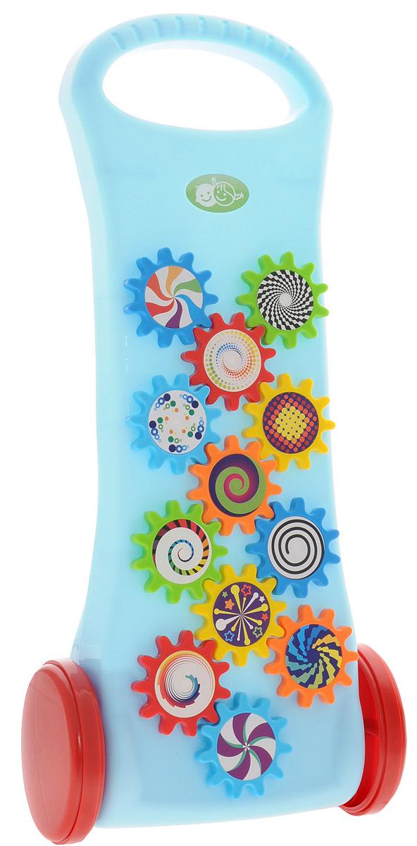 цены Playgo Игрушка-каталка с шестеренками