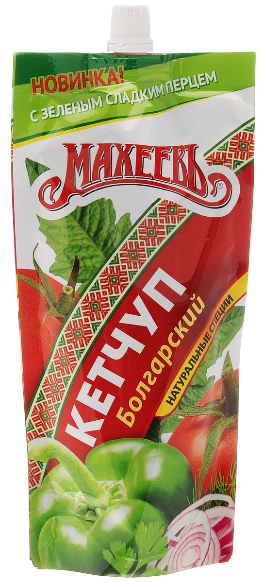цены Махеев кетчуп болгарский, 260 г