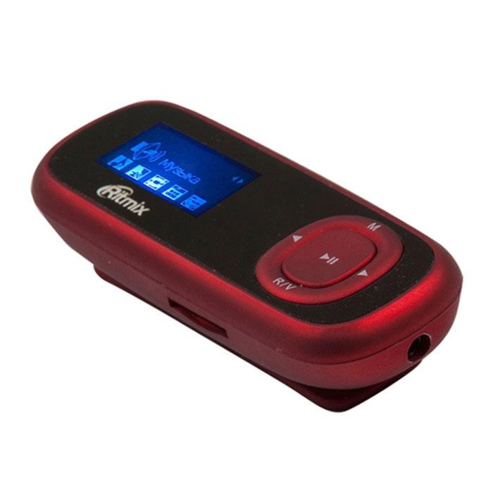 Ritmix RF-3410 4GB, Red MP3-плеер