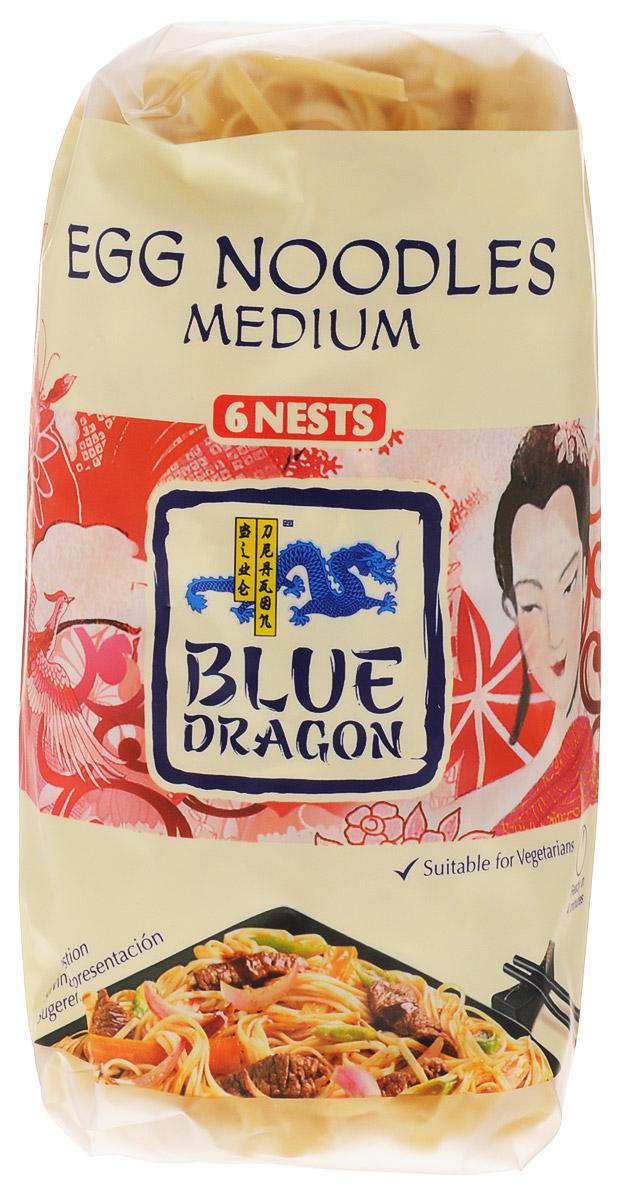 Blue Dragon Лапша яичная средняя, 300 г