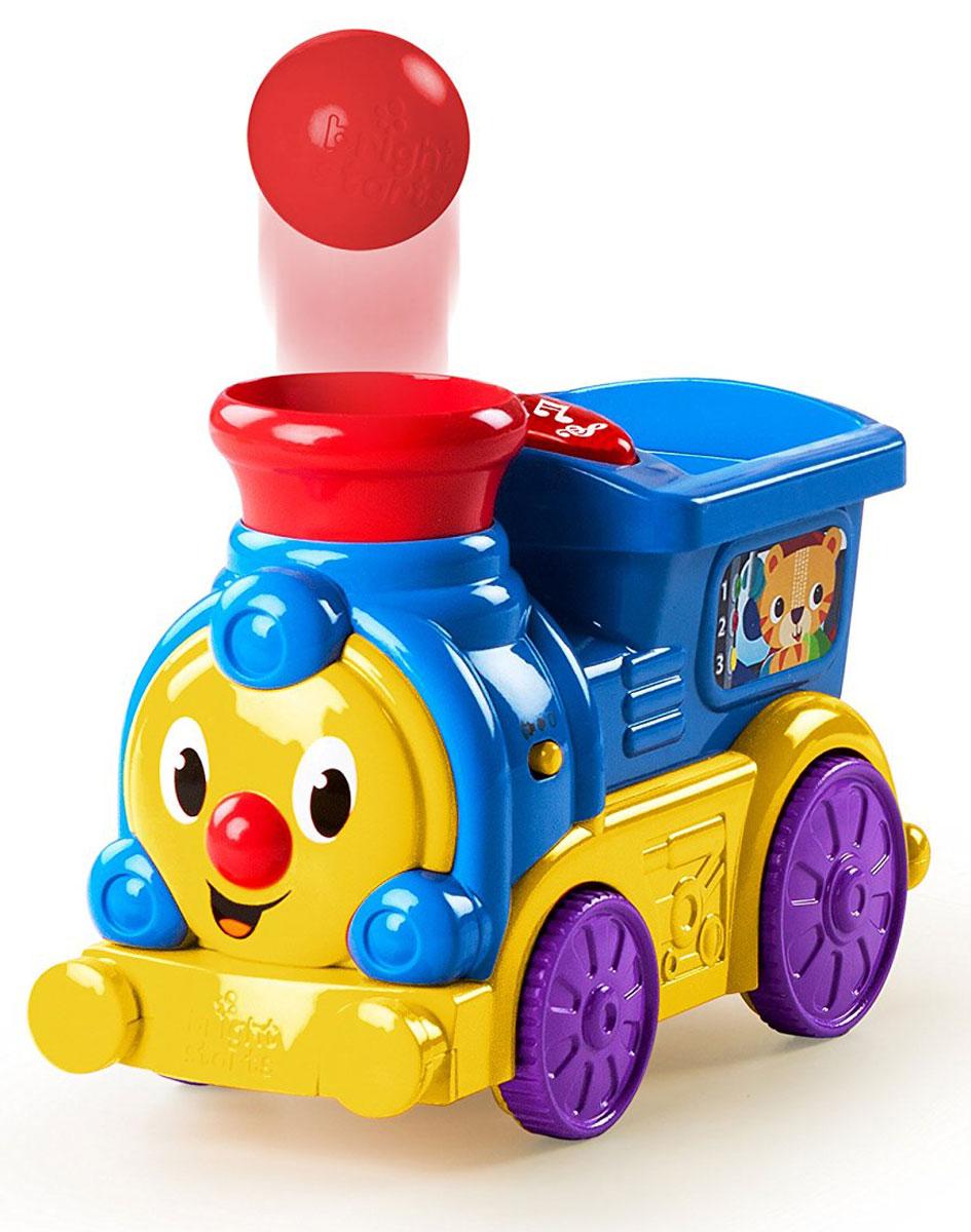 Bright Starts Развивающая игрушка Веселый паровозик развивающая игрушка bright starts море удовольствия тигренок 8814 5