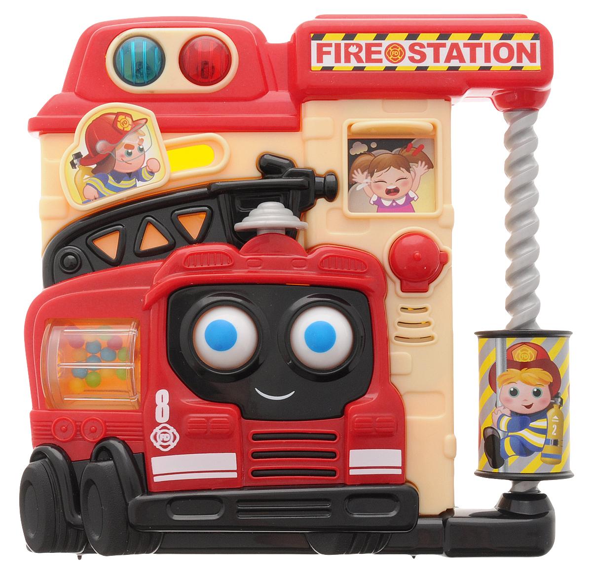 Playgo Развивающая игрушка Пожарная часть