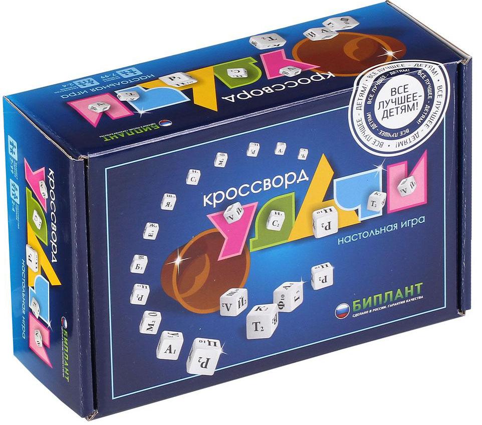 Биплант Настольная игра Кроссворд удачи настольная игра биплант 10012 эрудит синие фишки