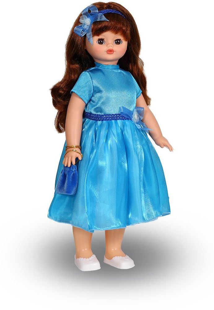 Весна Кукла озвученная Алиса цвет платья голубой