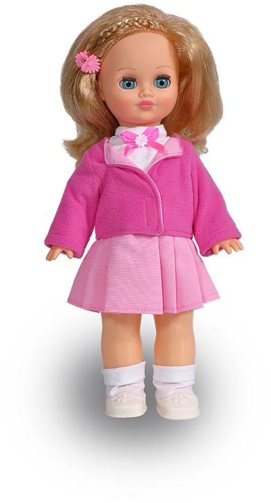Весна Кукла озвученная Лена цвет наряда белый розовый