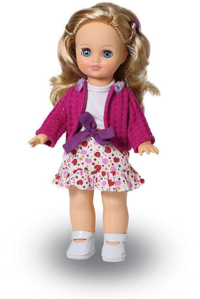 Весна Кукла озвученная Элла цвет одежды белый малиновый