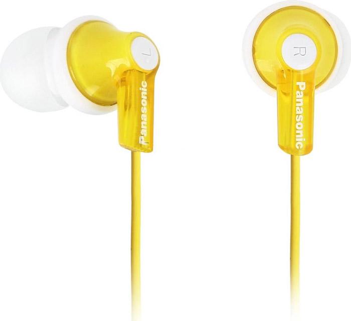 Panasonic RP-HJE118GUY, Yellow наушники наушники вкладыши panasonic rp hje190