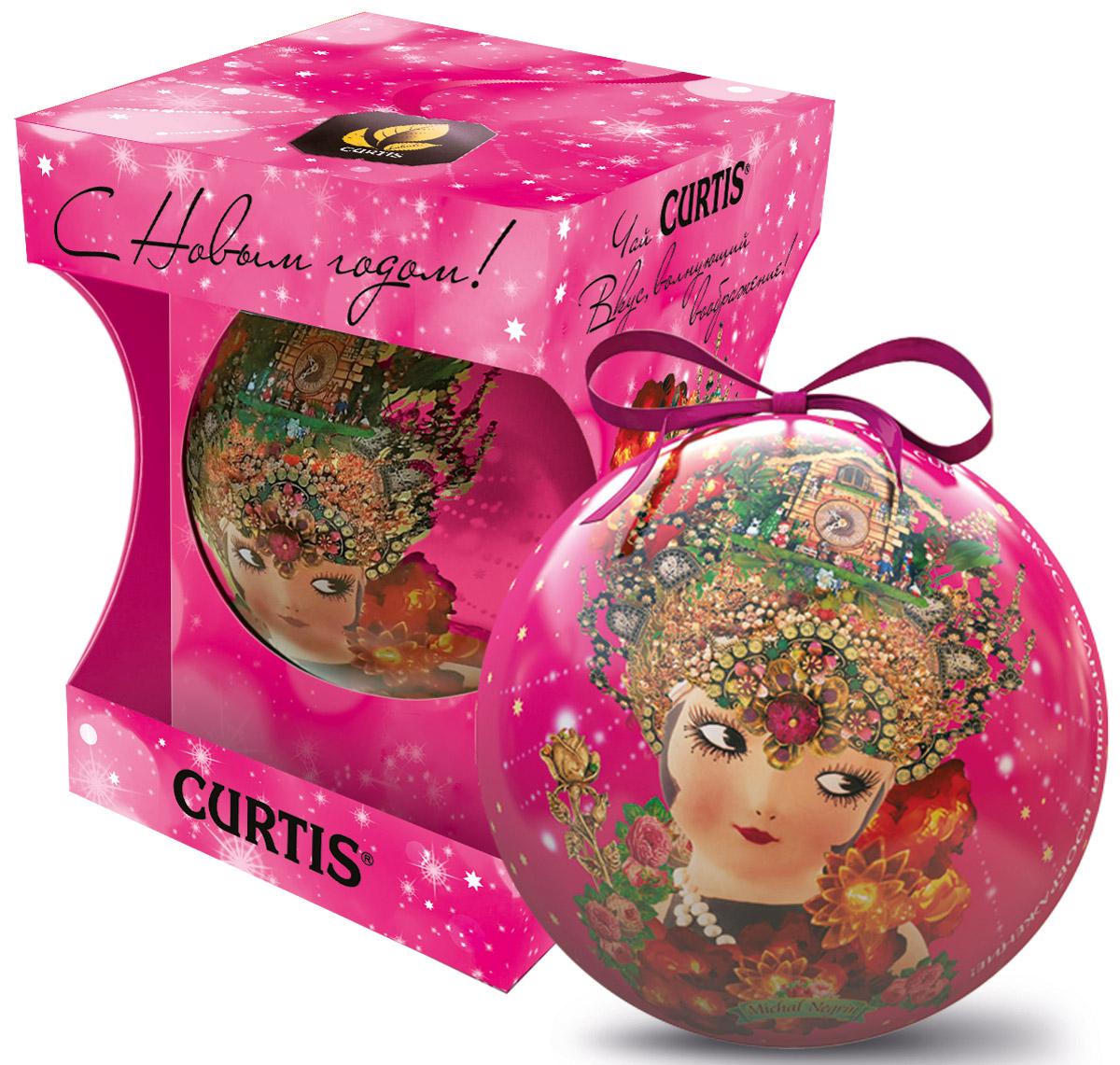 Curtis She-Shy Christmas Ball розовый, черный листовой чай, 30 г цена 2017
