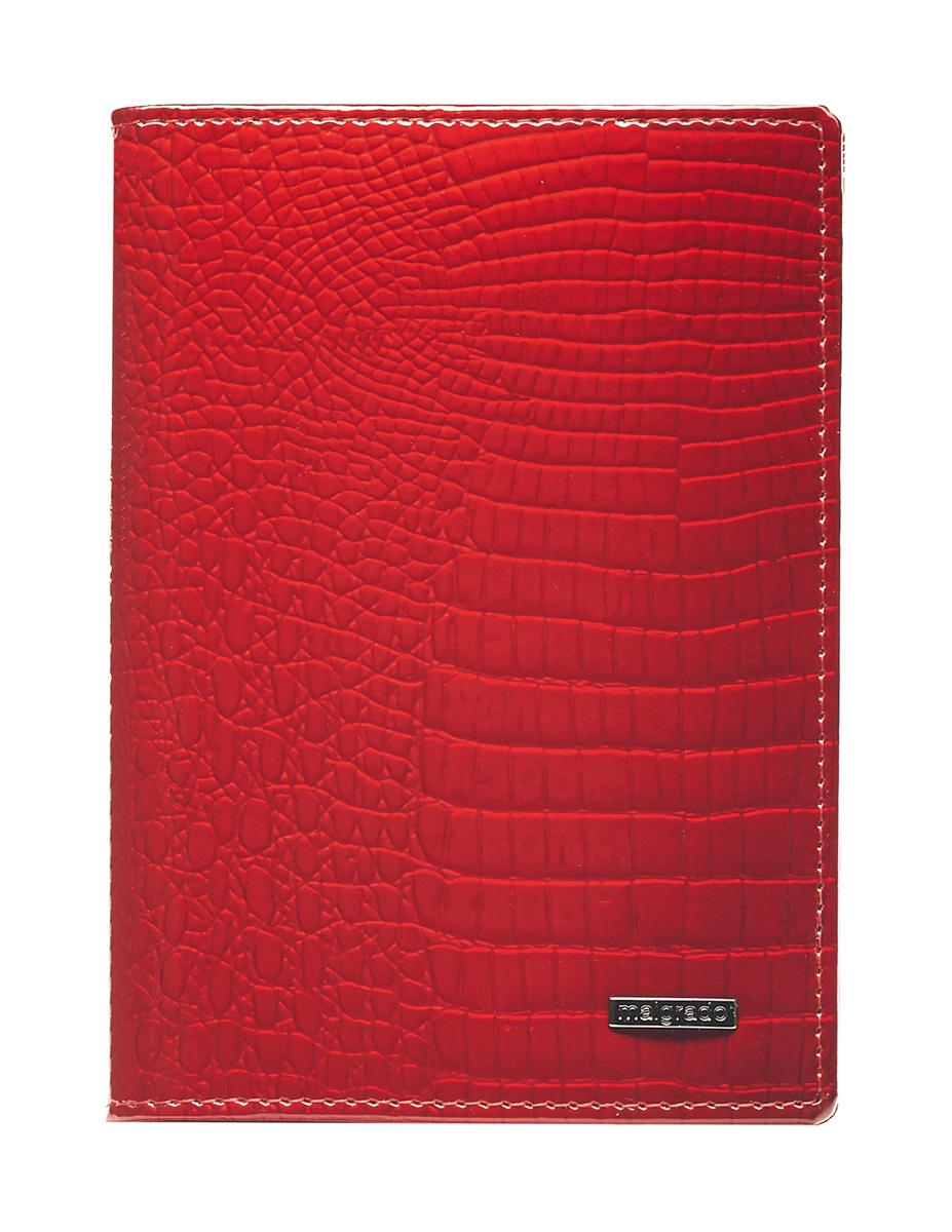 Обложка для паспорта Malgrado, цвет: красный. 54019-1-44# обложка для паспорта malgrado цвет красный 54019 1 44