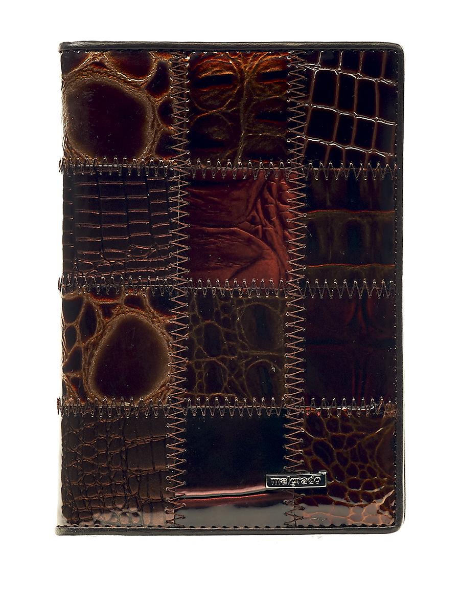 Обложка для паспорта женская Malgrado, цвет: коричневый. 54019-1A-490 обложка для паспорта malgrado цвет красный 54019 1 44