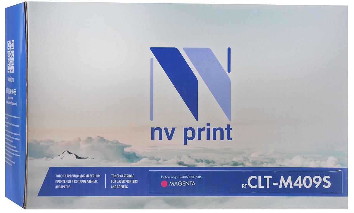 Картридж NV Print CLT-M409S, пурпурный, для лазерного принтера