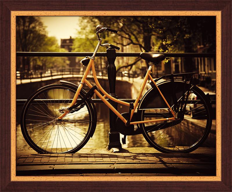 """Картина Postermarket """"Велосипед в Амстердаме"""", 40 х 50 см. PM-4034"""