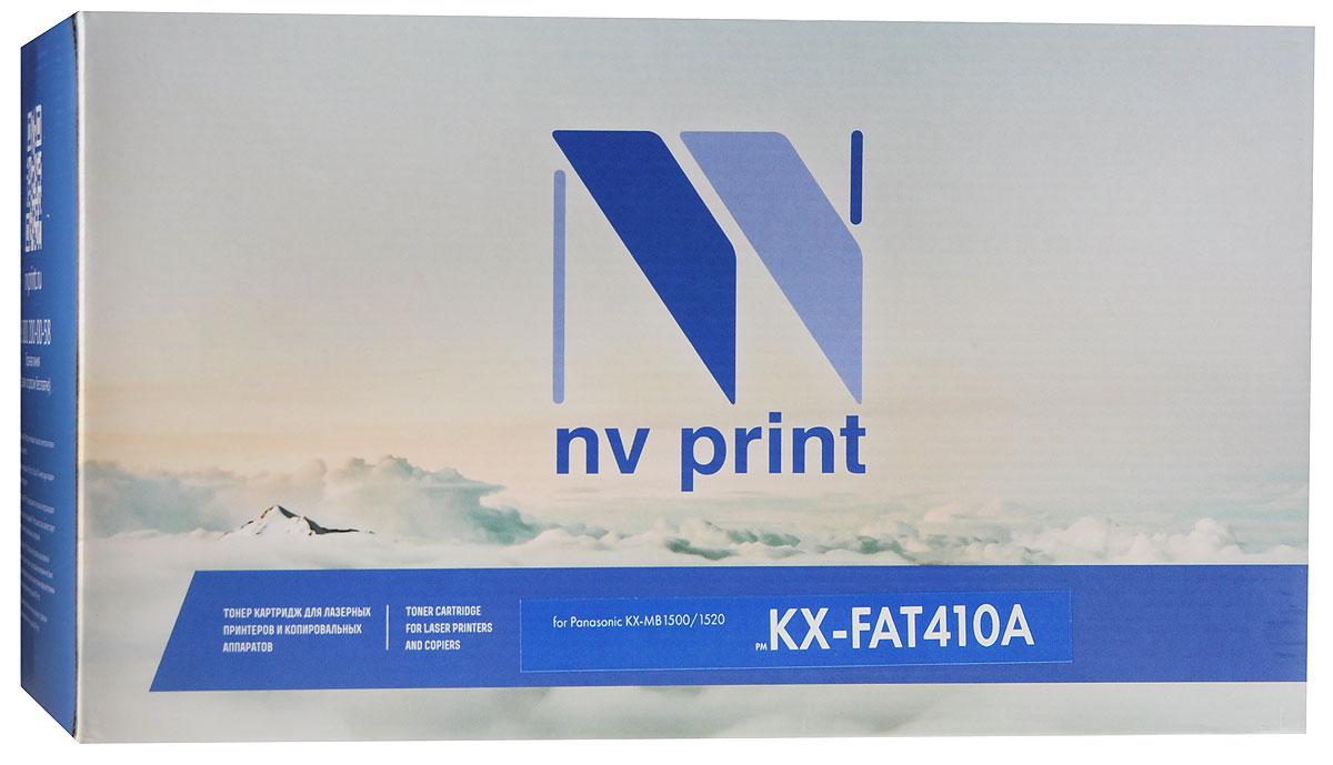 NV Print KX-FAT410A, Black тонер-картридж для Panasonic KX-MB1500/1520 цена