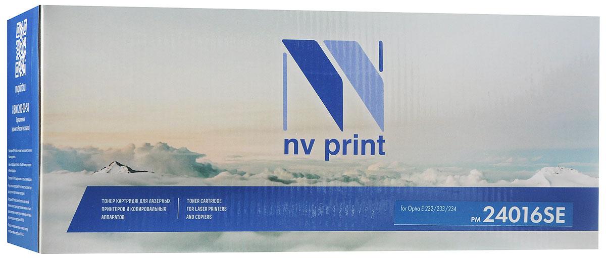 Тонер-картридж NV Print NV Print 24016SE тонер-картридж для Lexmark Optra E 232/233/234, черный, для лазерного принтера, совместимый