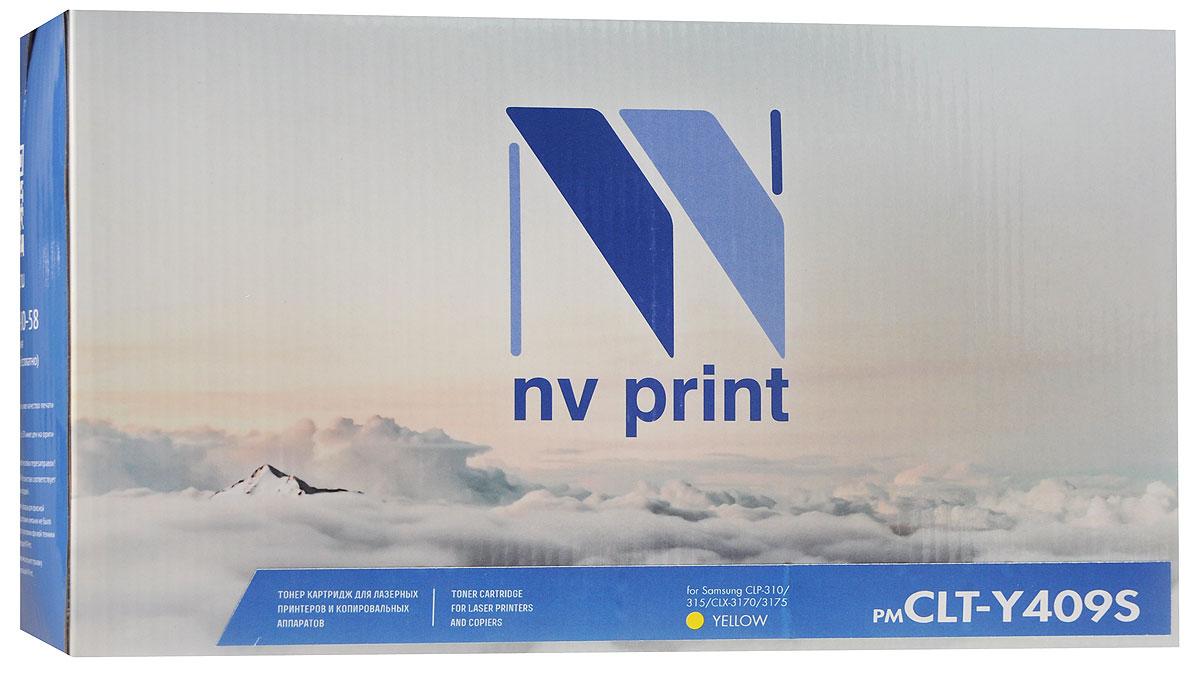 Картридж NV Print CLT-Y409S, желтый, для лазерного принтера