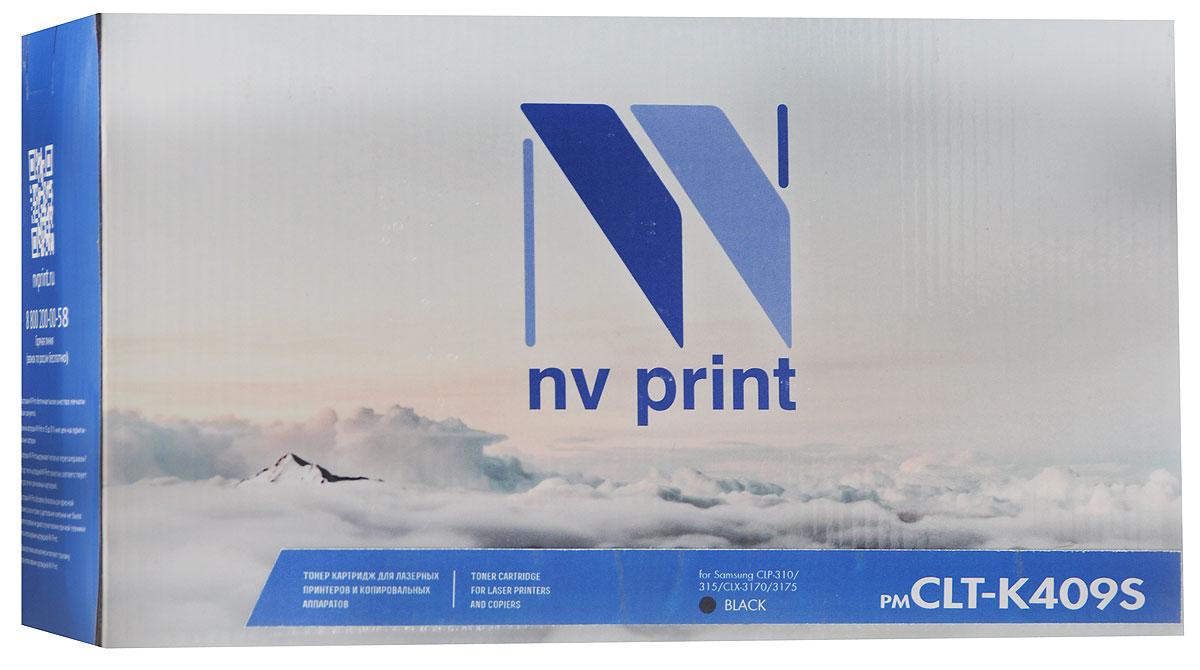 Картридж NV Print CLT-K409S, черный, для лазерного принтера