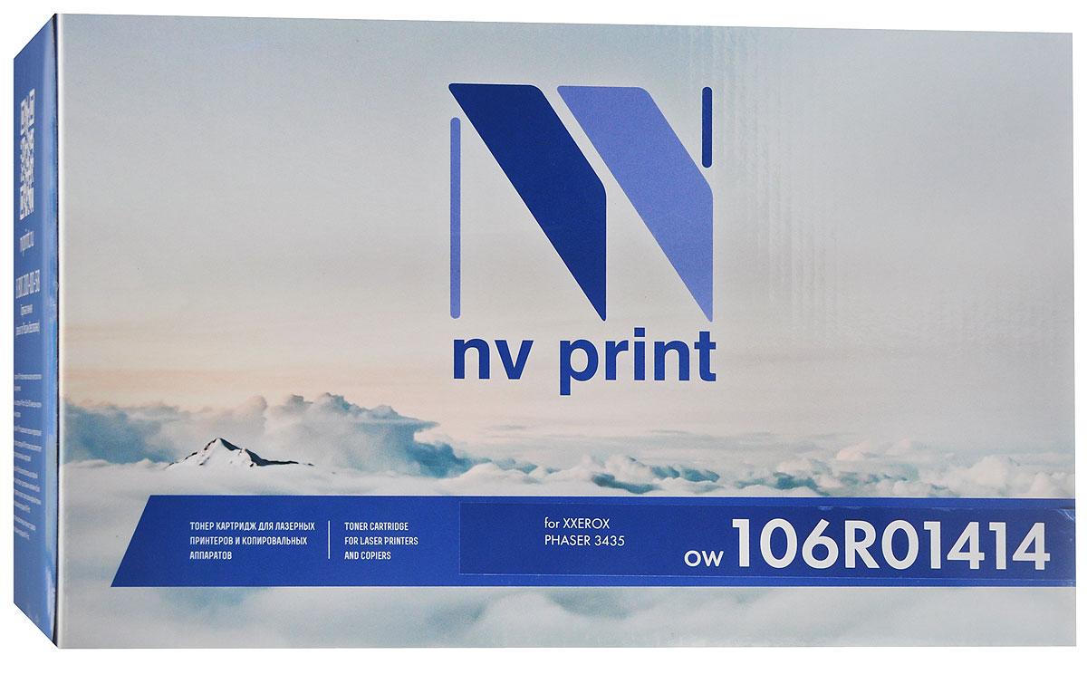 Картридж NV Print 106R01414, черный, для лазерного принтера цена