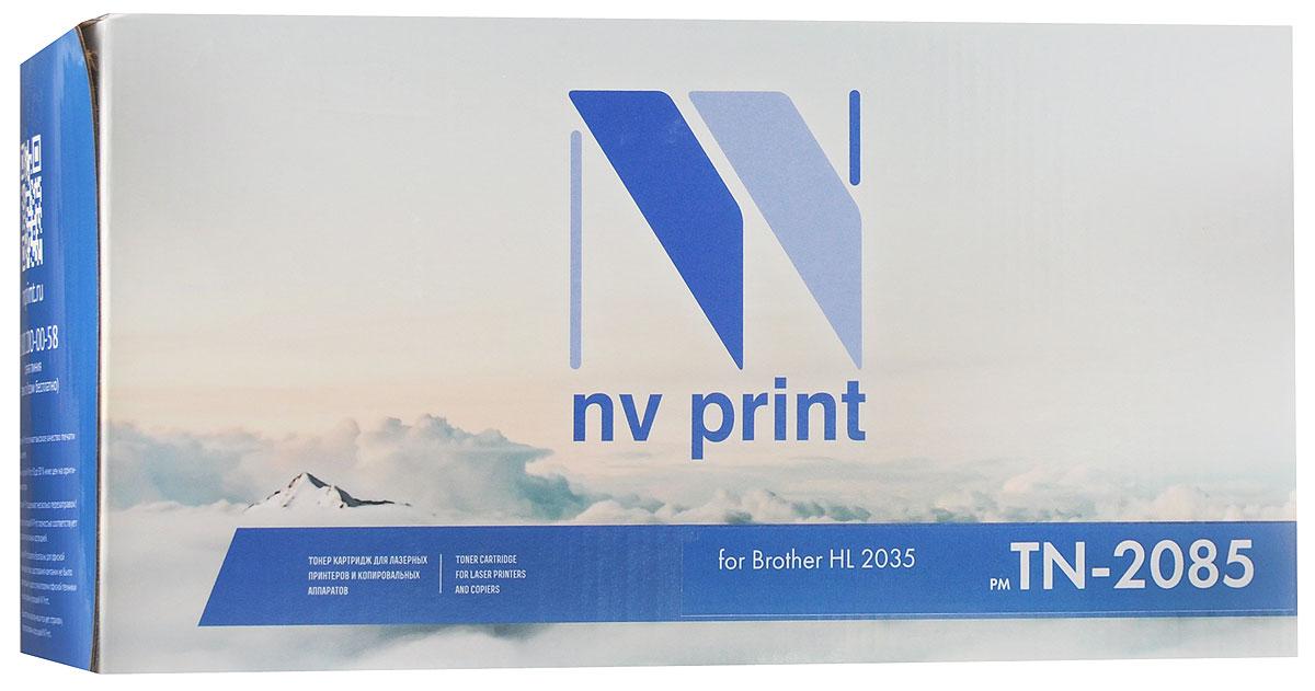 Картридж NV Print TN-2085T, черный, для лазерного принтера