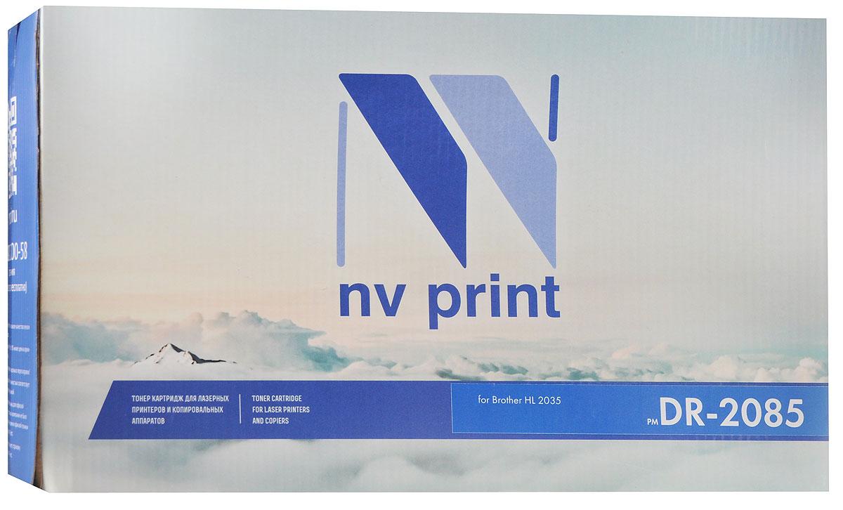 NV Print DR-2085, Black фотобарабан для Brother HL-2035
