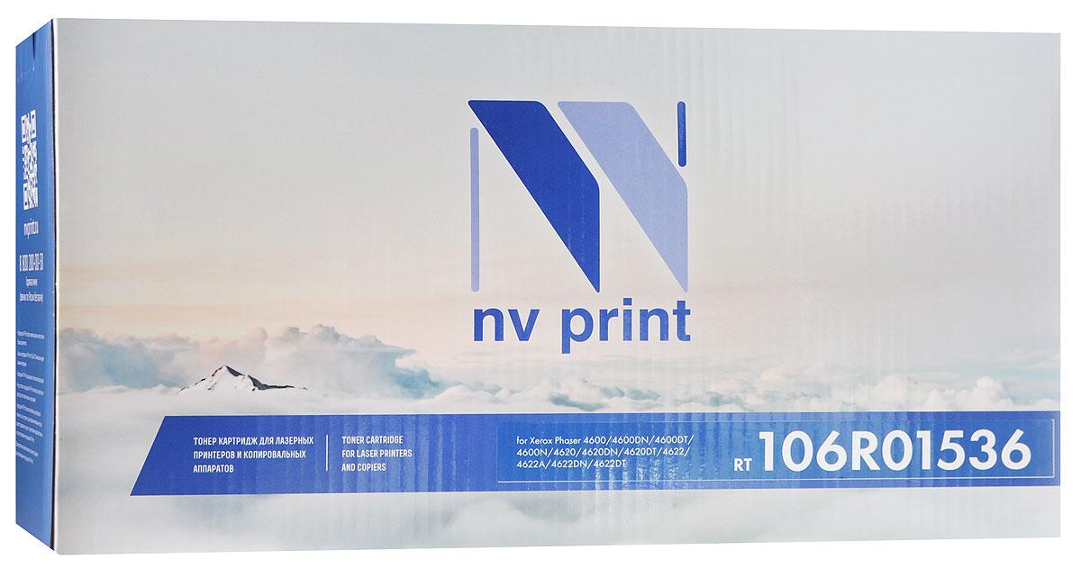 Картридж NV Print 106R01536, черный, для лазерного принтера