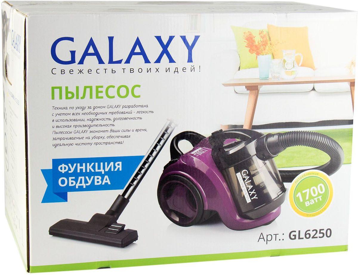 Пылесос Galaxy GL 6250, Purple Galaxy