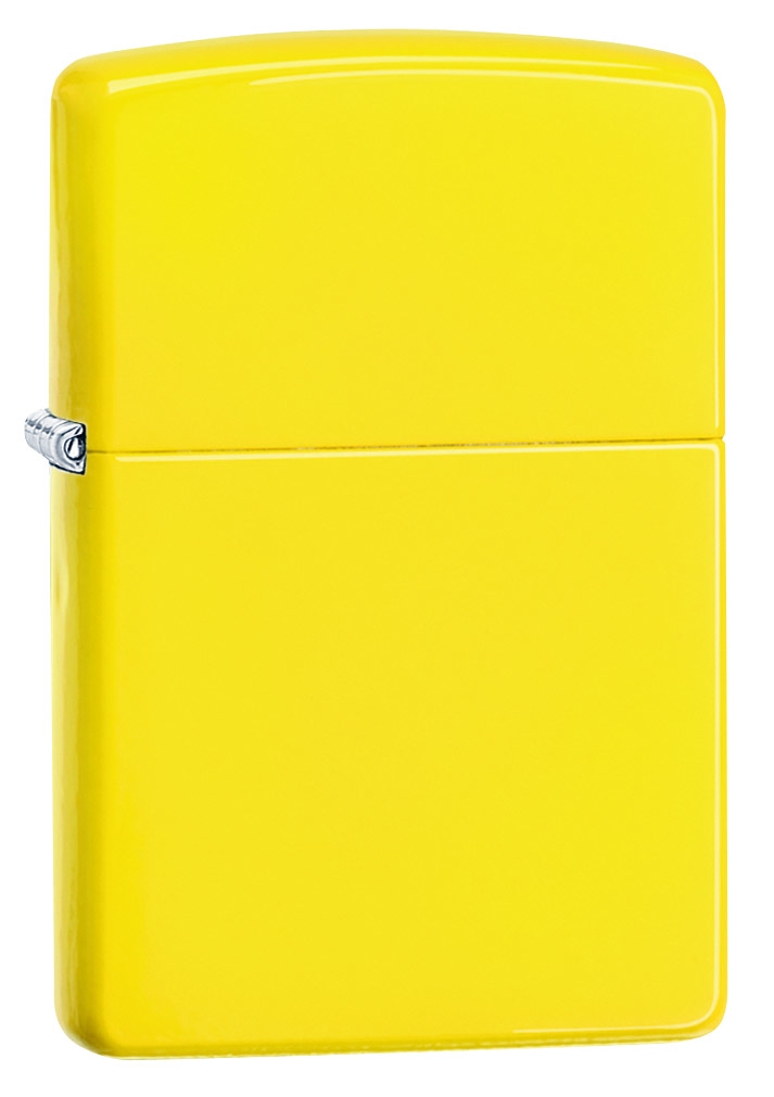 """Зажигалка Zippo """"Classic Lemon"""", цвет: желтый. 24839"""