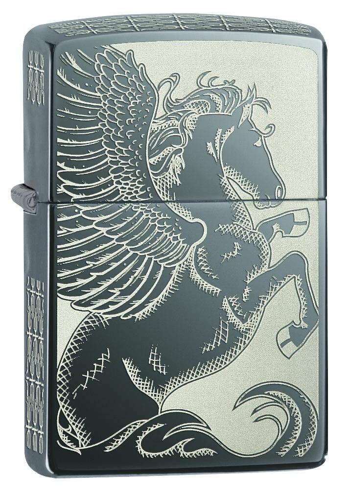 Зажигалка Zippo Classic, 3,6 х 1,2 х 5,6 см. 28802