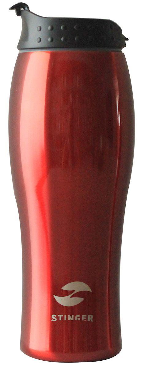 """Термокружка """"Stinger"""", цвет: красный, 400 мл. HY-VF122-R"""