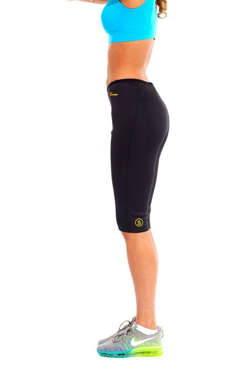 Бриджи для похудения женские Bradex Хот Шейперс, цвет: черный, желтый. SF 0120. Размер M (46) бриджи для похудения tip top черный 46 размер