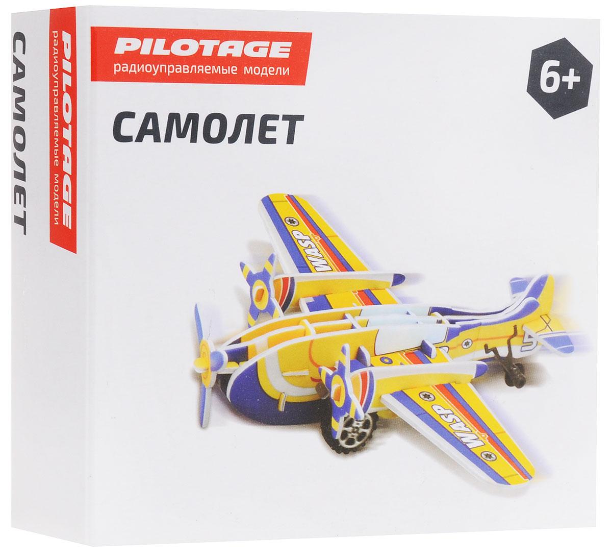 Pilotage 3D Пазл Самолет цвет желтый