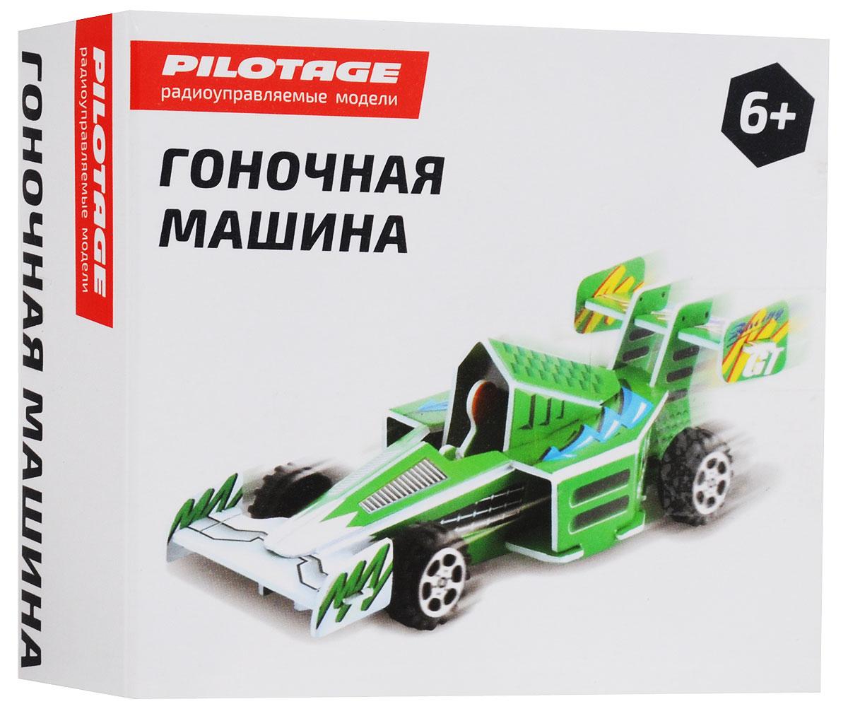 Pilotage 3D Пазл Гоночная машина цвет зеленый