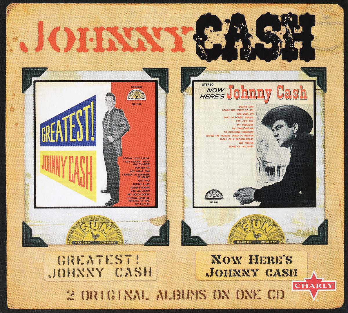 лучшая цена Джонни Кэш Johnny Cash. Greatest! Johnny Cash & Now Here's Johnny Cash