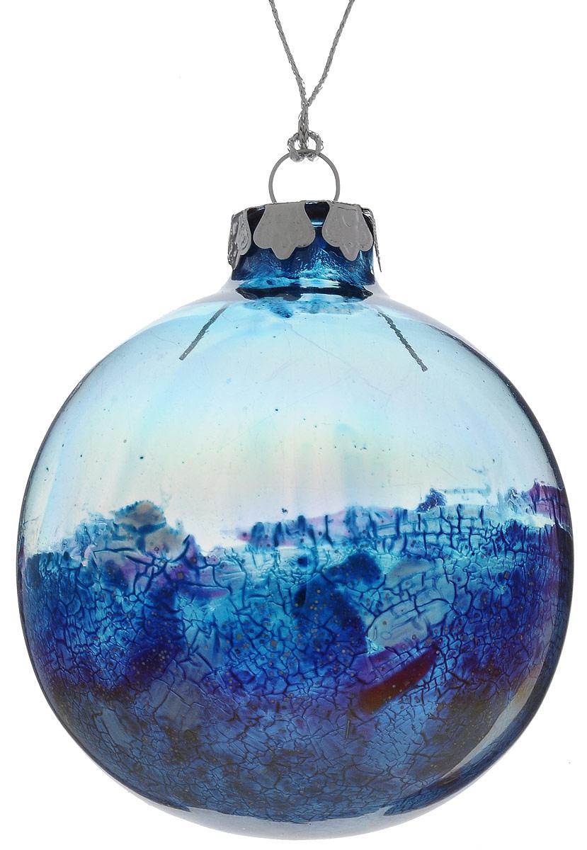 Украшение новогоднее подвесное Winter Wings Шар, диаметр 8 см. N079104 новогоднее подвесное украшение winter wings шар роспись цвет красный диаметр 8 см