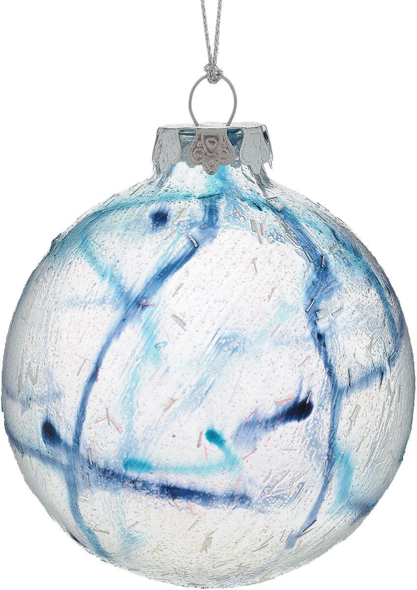 Украшение новогоднее подвесное Winter Wings Шар, диаметр 8 см. N079098 новогоднее подвесное украшение winter wings шар роспись цвет красный диаметр 8 см
