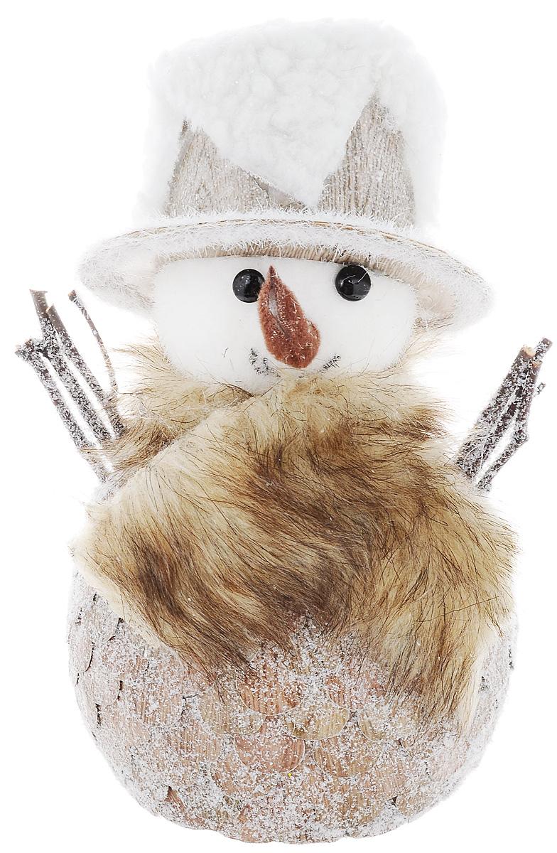 Украшение новогоднее Winter Wings Снеговичок-лесовичок, высота 22 см украшение новогоднее оконное winter wings новогодние герои 5 шт n09356 ангелы