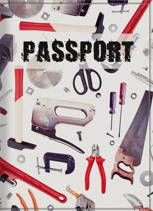 Обложка для паспорта мужская КвикДекор