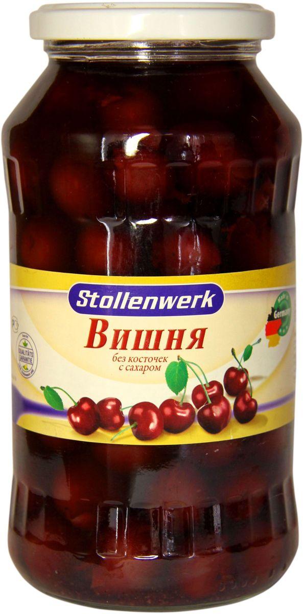 Фруктовые консервы Stollenwerk Вишня кислая, без косточек, с сахаром, 720 мл все цены
