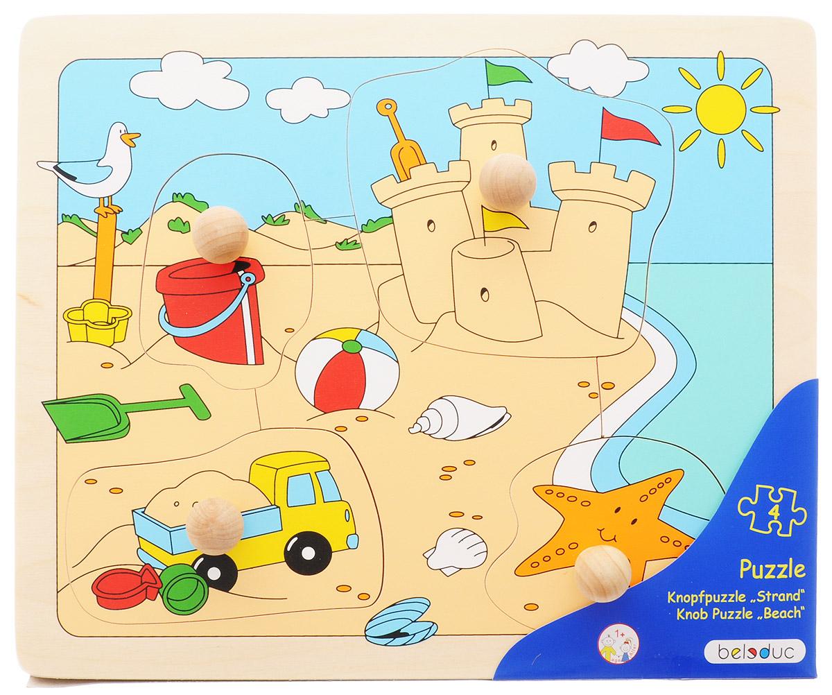 Beleduc Пазл для малышей Пляж цены
