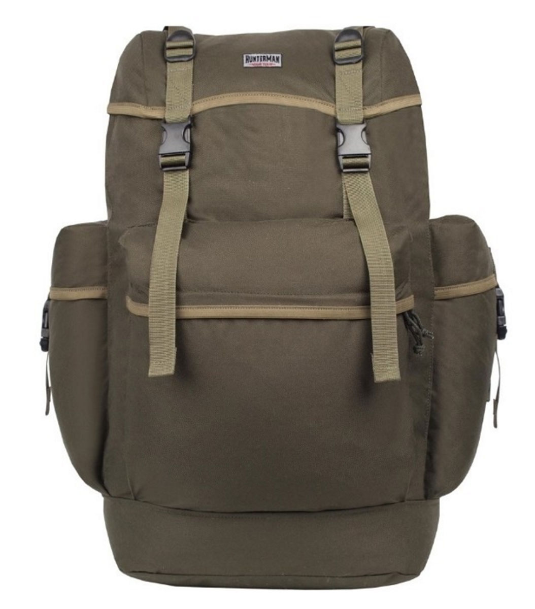 Рюкзак для охоты Hunter Nova Tour Охотник 70 V3, цвет: зеленый, 70 л